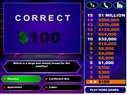 Play Who will be a millionaire Game