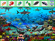 Play Underwater fish hidden object Game