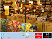 Play Candy shop hidden objects Game