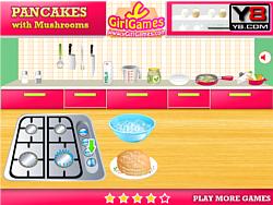 Mushrooms Pancakes game
