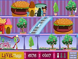 שחקו במשחק בחינם Bratz Babyz: Mall Crawl