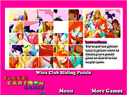 Play Winx club sliding puzzle Game