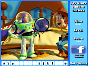 Play Toy story hidden letters game Game