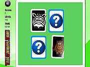 Animals Memory Challenge game