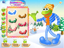 Leggy Frog game