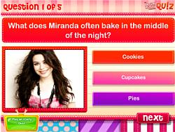 DM Quiz: Do you know Miranda Cosgrove? game
