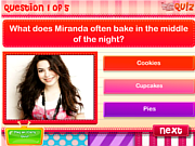 Play Dm quiz do you know miranda cosgrove  Game