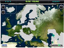 Europe Map Test game