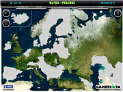 Play Europe map test Game