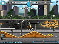玩免费游戏 Skateboard City 2