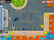 Play free game Police Station Parking 2