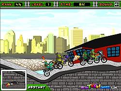 Turtles Racing game