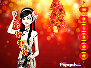 Chinese Spring Festival Dress Up game