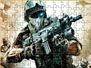 Play Urban soldier jigsaw Game