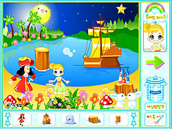 Peter Pan Neverland Decoration game
