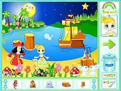 שחקו במשחק בחינם Peter Pan Neverland Decoration