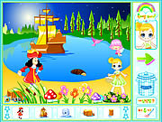 Play Peter pan neverland decoration Game