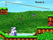 Jogar jogo grátis Sonic Angel Island