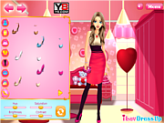 Play Romantic sweetheart makeover Game