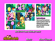 Play My little pony sliding puzzle Game
