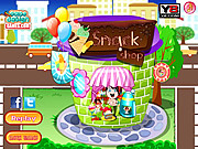 Play Candy shop decoration Game