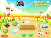 Play Cherry cake delicious Game