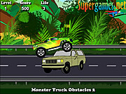 Monster Truck Obstacles 2 game
