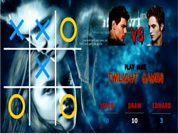 Spielen Sie das Gratis-Spiel  Twilight Tic Tac Toe