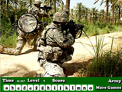 Permainan Army Hidden Letters