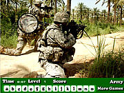 Play Army hidden letters Game