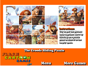 Play The croods sliding puzzle Game