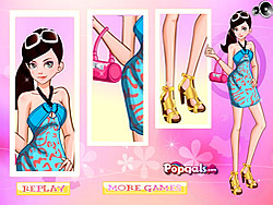 It Girl-Dress Up Like Barbie game
