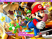 Play Mario hidden letters Game