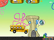 Play Spongebob school bus Game