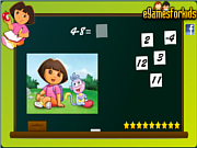 Dora Math Game game