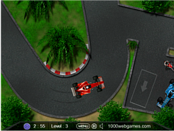 F1-Parking game