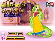 Play Princess rapunzel dress up Game