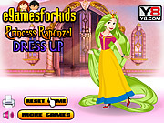 Princess Rapunzel Dress Up game
