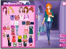 College Fashion game