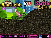 Play Barbie bike bike Game