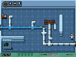 שחקו במשחק בחינם Powerpuff Girls: Pipeline Panic