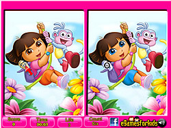 juego Dora - 6 Differences