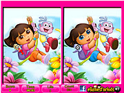 Play Dora - 6 differences Game
