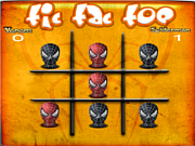 Play Tic tac toe spiderman Game
