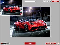 Ferrari Berlinetta Jigsaw game