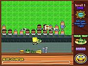 Play Spongebob fastfood restaurant Game