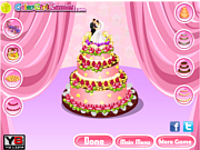 Play Wedding cake challenge Game