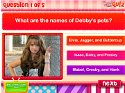 Play Dm quiz how well do you know debby ryan  Game