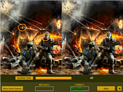 Play Brave soldiers difference Game