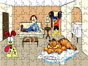 Play Garfield family Game